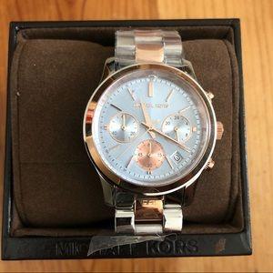 NEW IN BOX Michael Kors MK6166 Chronograph Watch